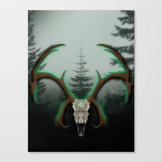 C-1 Horns Canvas Print