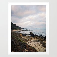 El Pescador Beach, California Art Print