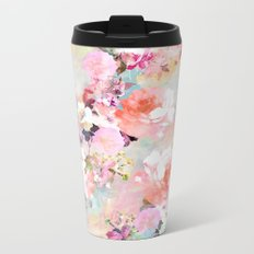 Love of a Flower Metal Travel Mug