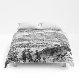 Mount Saint Helena A La California (1873) Comforters
