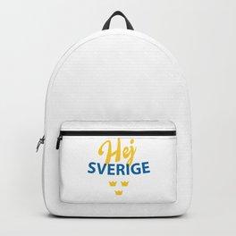 Hej Sverige, Hello Sweden Backpack