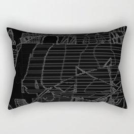 Underground door Rectangular Pillow