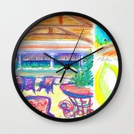 caribe hotel Wall Clock
