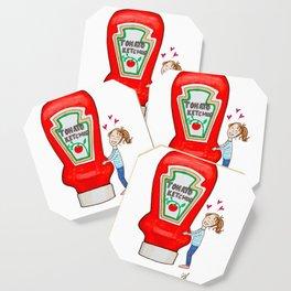 I love ketchup Coaster