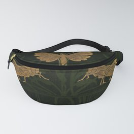 Art Nouveau Insects Fanny Pack