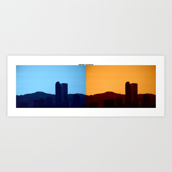 Denver, Colorado Art Print