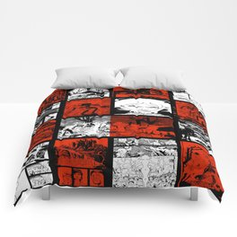 RED & WHITE - A nne Frankenstein Book I - Resurrection Comforters