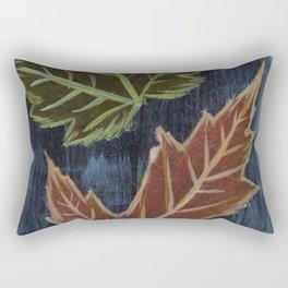Ranger Lake Mixed Wood Autumn Rectangular Pillow