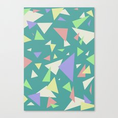 Triangl'd  Canvas Print