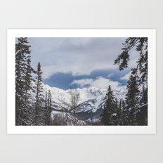Telluride Art Print