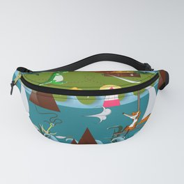 Nautical kids dream Fanny Pack