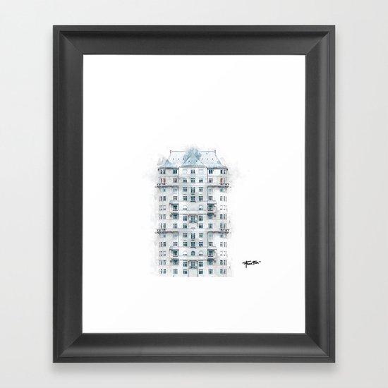 """""""Nowhere Home"""" Framed Art Print"""