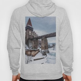 Fairytale Castle in the Snow Hoody