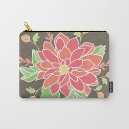 Dahlia with buds Carry-All Pouch