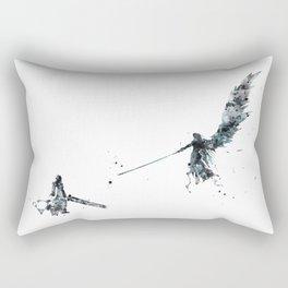 Final Fantasy Watercolor Rectangular Pillow