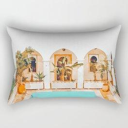 Turkish Holiday #painting #travel Rectangular Pillow