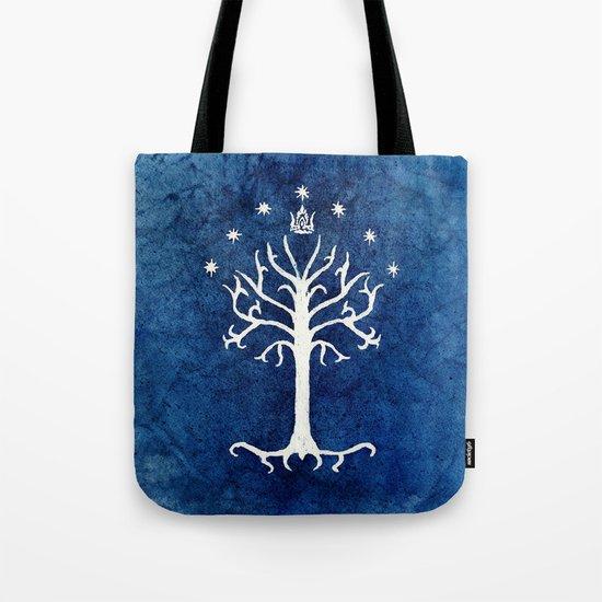 The White Tree Tote Bag