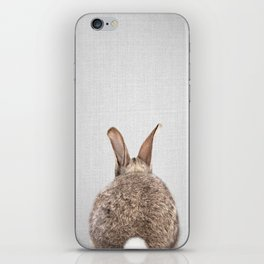 Rabbit Tail - Colorful iPhone Skin