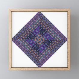 geometric ensemble Framed Mini Art Print