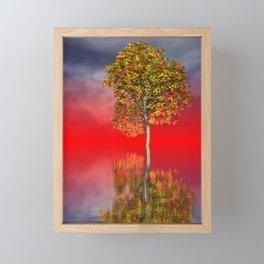 strange light somewhere -24- Framed Mini Art Print