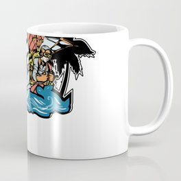 Steampunk Plague Medieval Doctor Flying Gears Coffee Mug