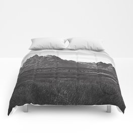 Dark Mountains Comforters