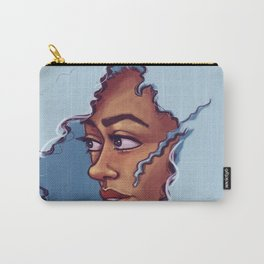 Blue Haired Bombshell Carry-All Pouch