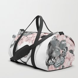 WOMAN WITH FLOWERS 10 Sporttaschen