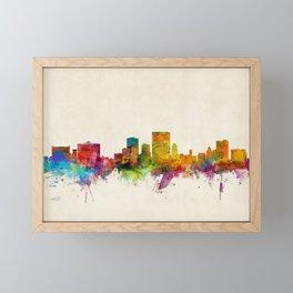 El Paso Texas Skyline Framed Mini Art Print