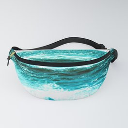 California Ocean Waves Fanny Pack