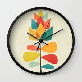Spring Time Memory Wall Clock