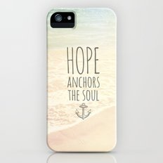 ANCHOR OF HOPE iPhone (5, 5s) Slim Case