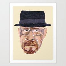 Walter White Collage Art Print