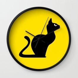 Angry Animals: Cat Wall Clock