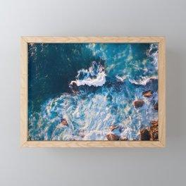 Stormy Seas Framed Mini Art Print