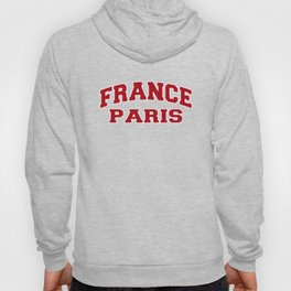 Paris France City Souvenir Hoody