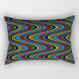 Dangerously Groovy Rectangular Pillow