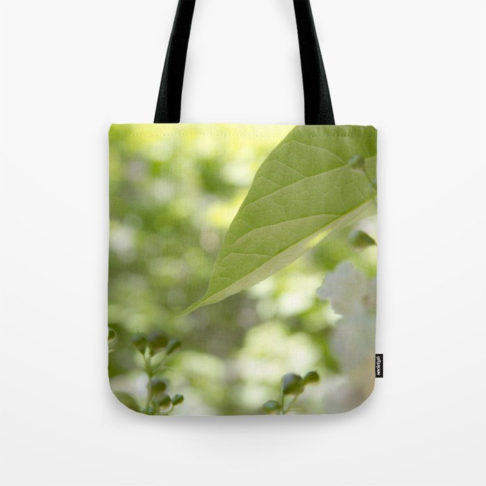 green moments Tote Bag