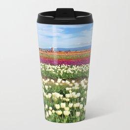 Woodburn Tulips Metal Travel Mug