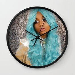 Barbarella III Wall Clock