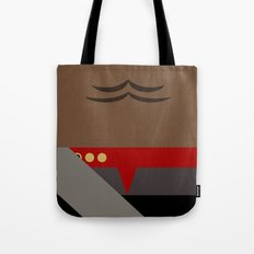 Worf - Minimalist Star Trek DS9 Deep Space Nine - Lieutenant Commander - startrek - Trektangles Tote Bag