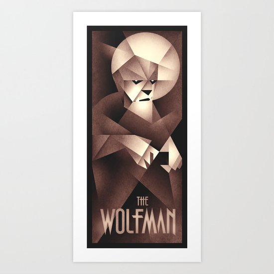 The Wolfman Art Print