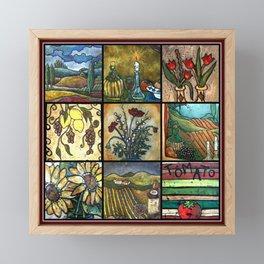 Tuscany Framed Mini Art Print