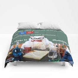 Chemistry Cat Comforters
