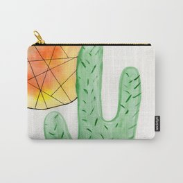 Cacti and Sun Carry-All Pouch