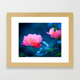 Flowers of early spring Framed Art Print