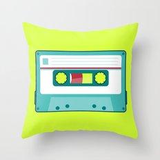 #54 Cassette Throw Pillow