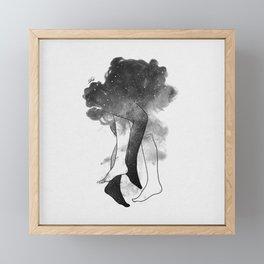 Somewhere in heaven. Framed Mini Art Print
