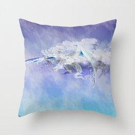 Sky Dragon Throw Pillow