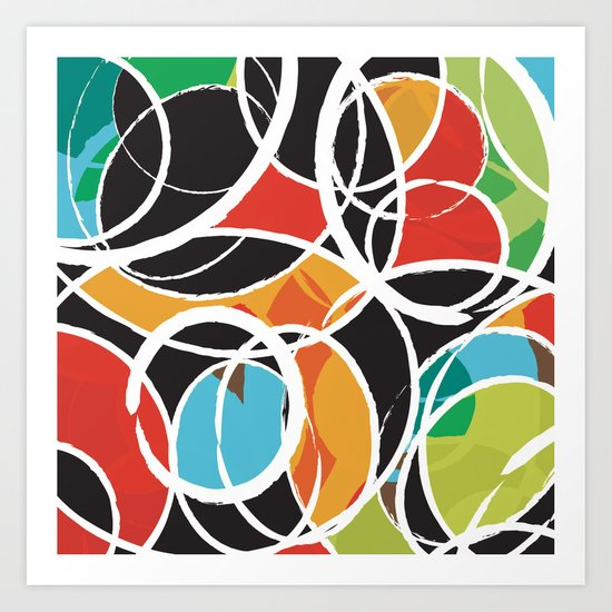 Orbit Art Print